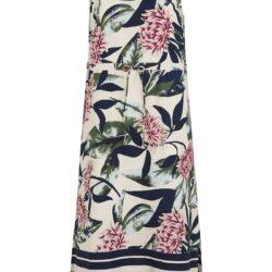 Ärmlös klänning i ekologisk bomull